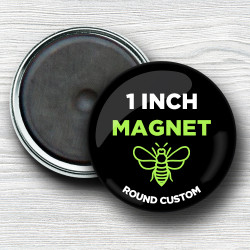 Custom 1 Inch Round Magnets