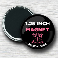 Custom 1.25 Inch Round Magnets