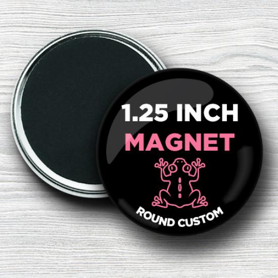 Custom 1.25 Inch Round Magnets