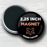 Custom 2.25 Inch Round Magnets