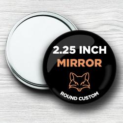 Custom 2.25 Inch Round Hand Mirrors