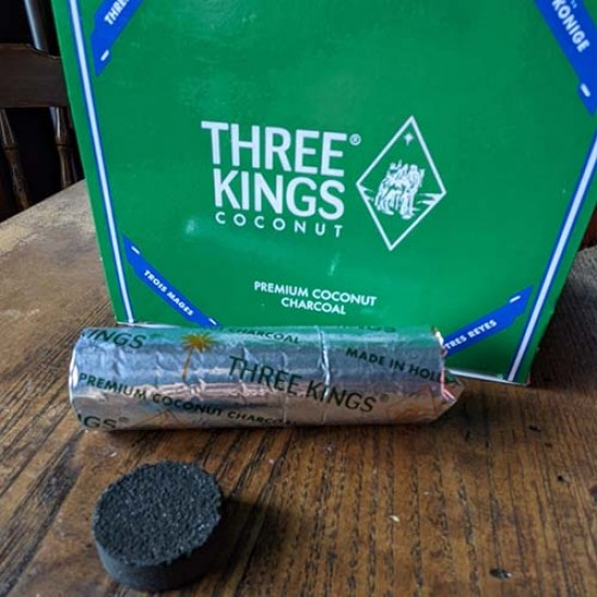 Three Kings Coconut Charcoal