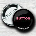 Custom Round Pin-Back Buttons