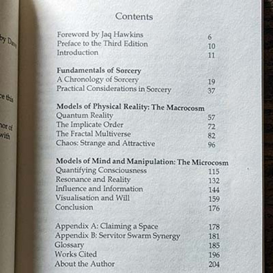 Quantum Sorcery: The Science of Chaos Magic 3rd Edition