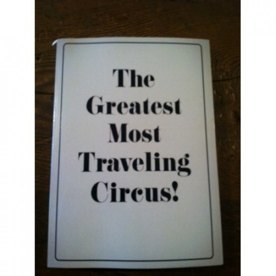 Greatest Most Traveling Circus by Jonas