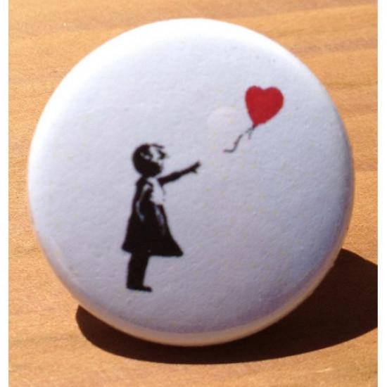 Banksy Heart Balloon AD-08