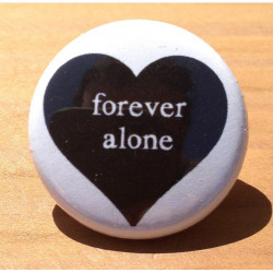 Forever Alone Black Heart HT-14