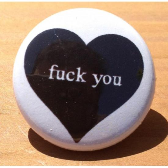 Fuck You Black Heart HT-11