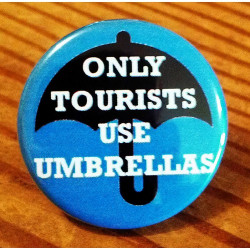 In Portland Only Tourists Use Umbrellas LO-07