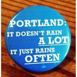 PORTLAND: It Doesn't Rain A LOT it Rains OFTEN LO-02