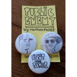 Public Enemy Set of 3