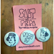 Salt N Pepa Button or Magnet Set of 3