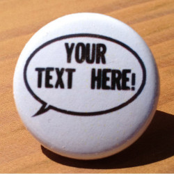 Speech Bubble (Customize with your own words!) CU-02