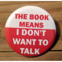 The Book Means I Don't Want to Talk TR-13