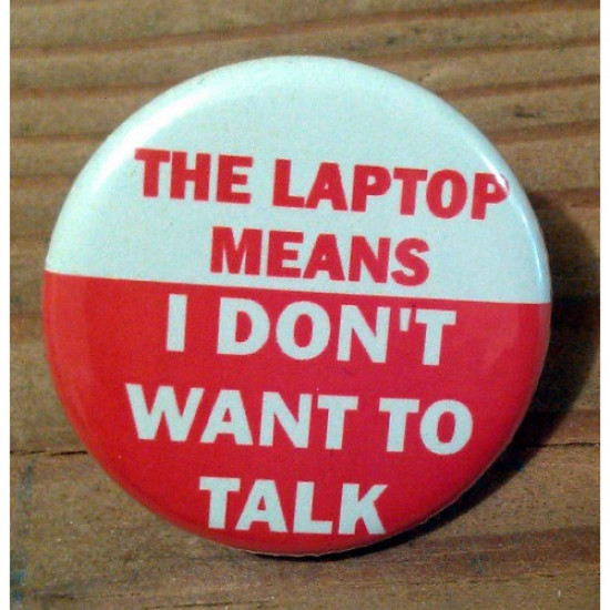 The Laptop Means I Don't Want to Talk TR-12