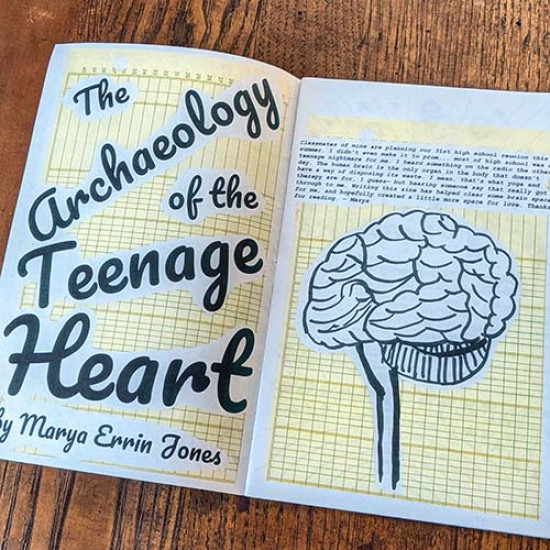 Archaeology of the Teenage Heart by Marya Errin Jones