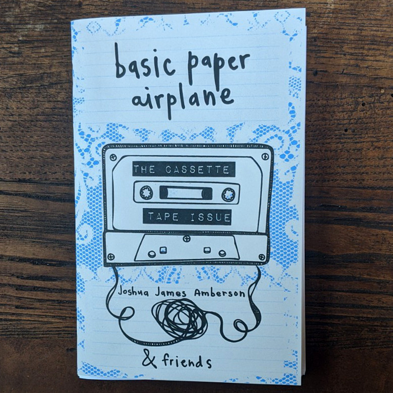 Basic Paper Airplane #13: The Cassette Tape Issue