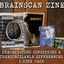 Brainscan Zine Pre-existing Conditions & Irreconcilable Differences 5 zine pack