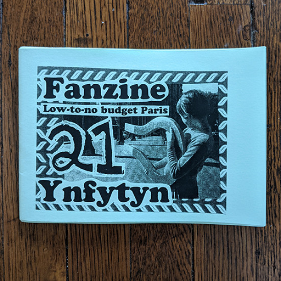Fanzine Ynfytyn 21 Low-to-no budget Paris