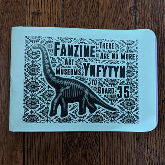 Fanzine Ynfytyn 35 + 22 working in museums (2 zine set)
