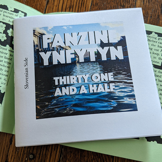 Fanzine Ynfytyn 31 + 31.5 Croatia and Slovenia (2 zine set)