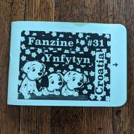 Fanzine Ynfytyn 31 + 31.5 Croatia and Slovenia (2 zine set)