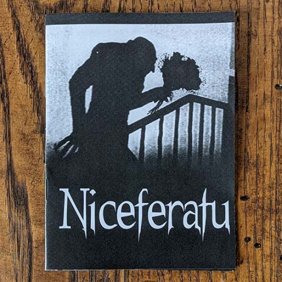 Niceferatu - a mini comic for vampire lovers