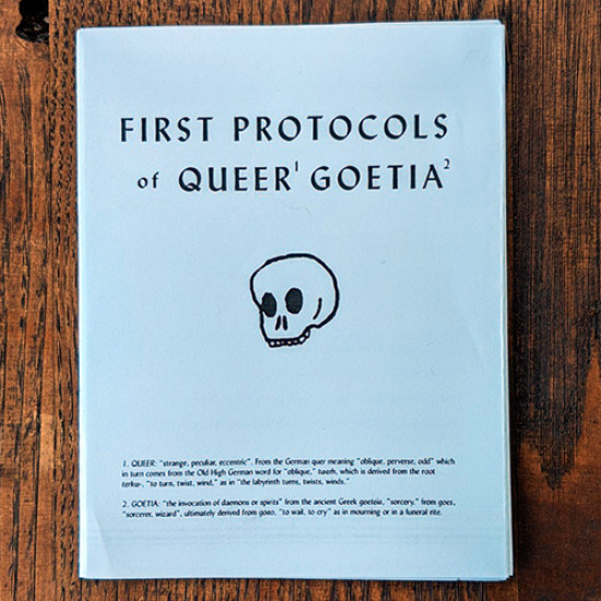 First Protocols of Queer Goetia