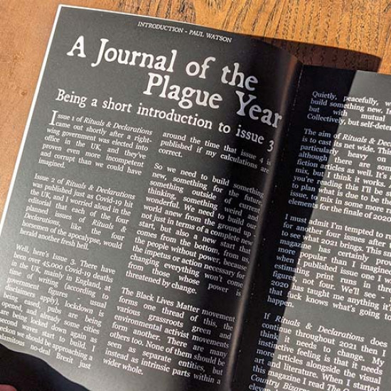 Rituals & Declarations - Volume 1, Issue 3 - Summer 2020