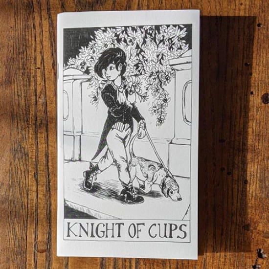 Tarot Zine - Knight of Cups