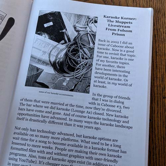 Caboose Zine #13 The Connection Issue