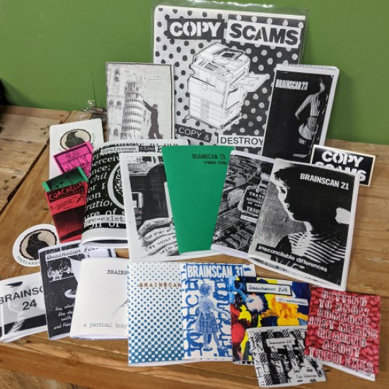 Brainscan Zine Snack Pack! 20+ Zines and other goodies!
