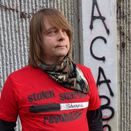 Stolen Sharpie Revolution T-shirt