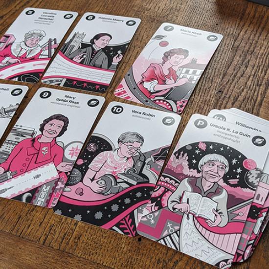 Women of Science Tarot