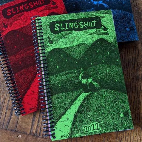 2022 Slingshot Organizer - Large Spirtal Bound