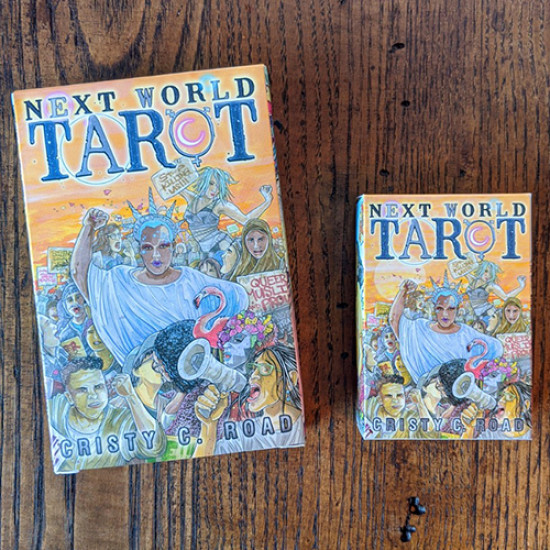 Next World Tarot: Pocket Edition: Deck and Guidebook