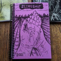 2021 Slingshop Organizer - Large Spiral bound