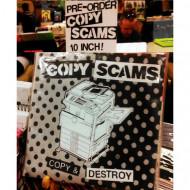 """Copy Scams - Copy & Destroy 10"""" vinyl record, zine, and download code"""