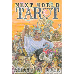 Next World Tarot Deck + Guidebook by Cristy C. Road