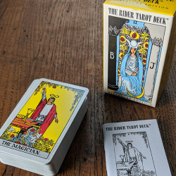 Miniature Rider-Waite-Colman Smith Tarot Deck