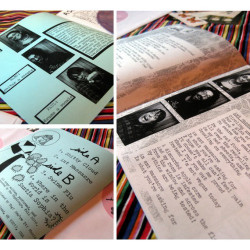 """Tagalongs 7""""record and zine"""