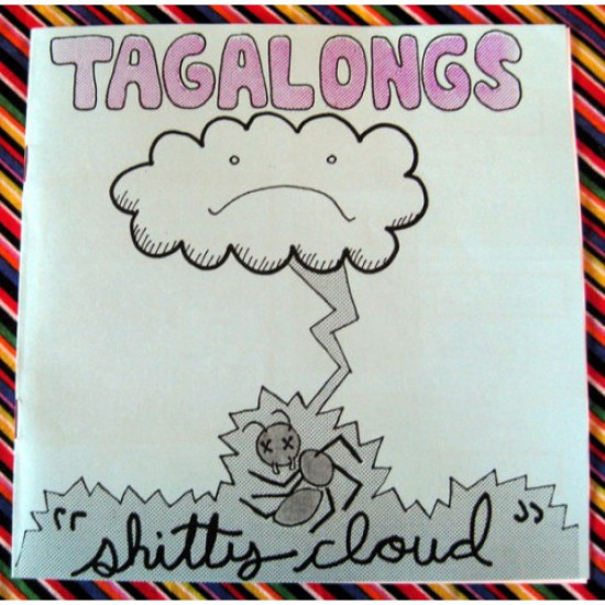 "Tagalongs 7""record and zine"