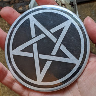 Pentacle Magnet or Hand Mirror